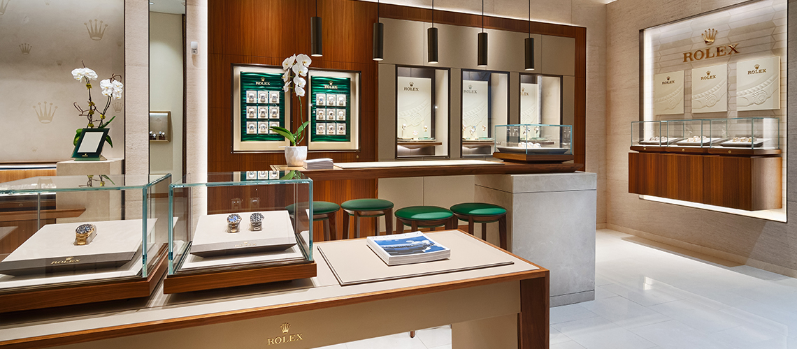 patek philippe and rolex boutiques by razny jewelers