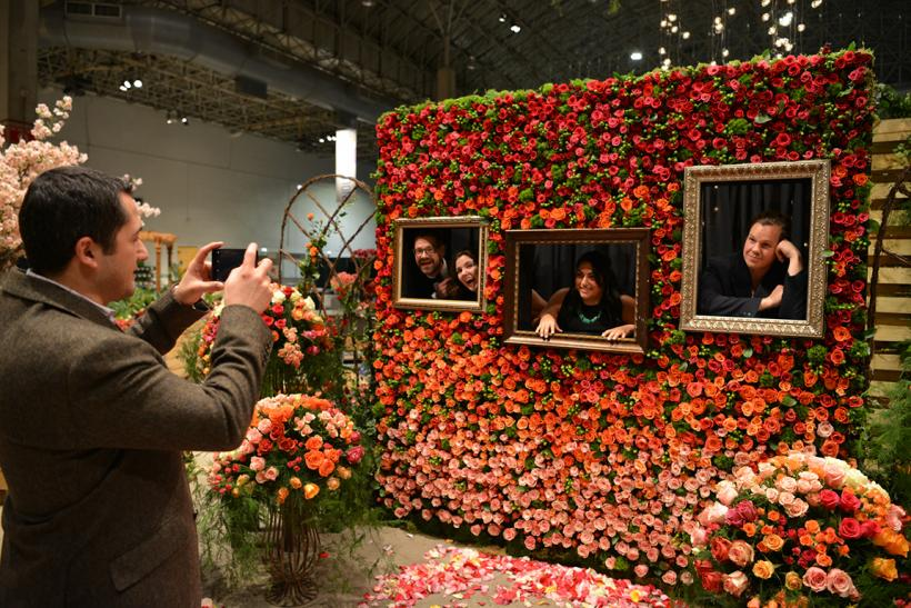 Chicago Flower Garden Show The Magnificent Mile