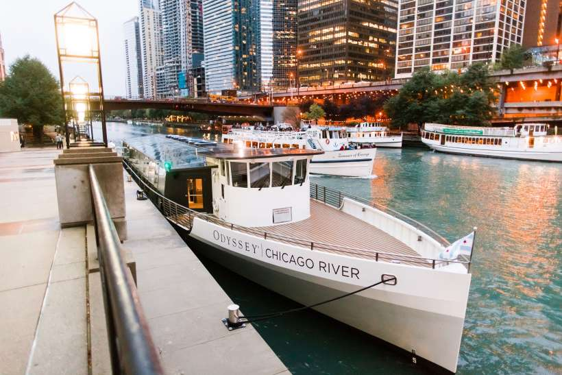 Odyssey Chicago River Easter Cruises | The Magnificent Mile