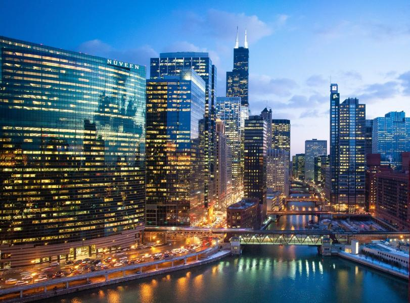 Holiday Inn Chicago Mart Plaza River North The