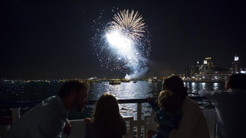 shoreline sightseeing architecture fireworks tours | the