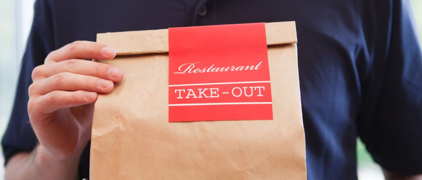 Takeout Image header